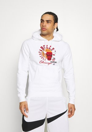 NBA CHICAGO BULLS UNBEATABULLS HOODY - Club wear - white