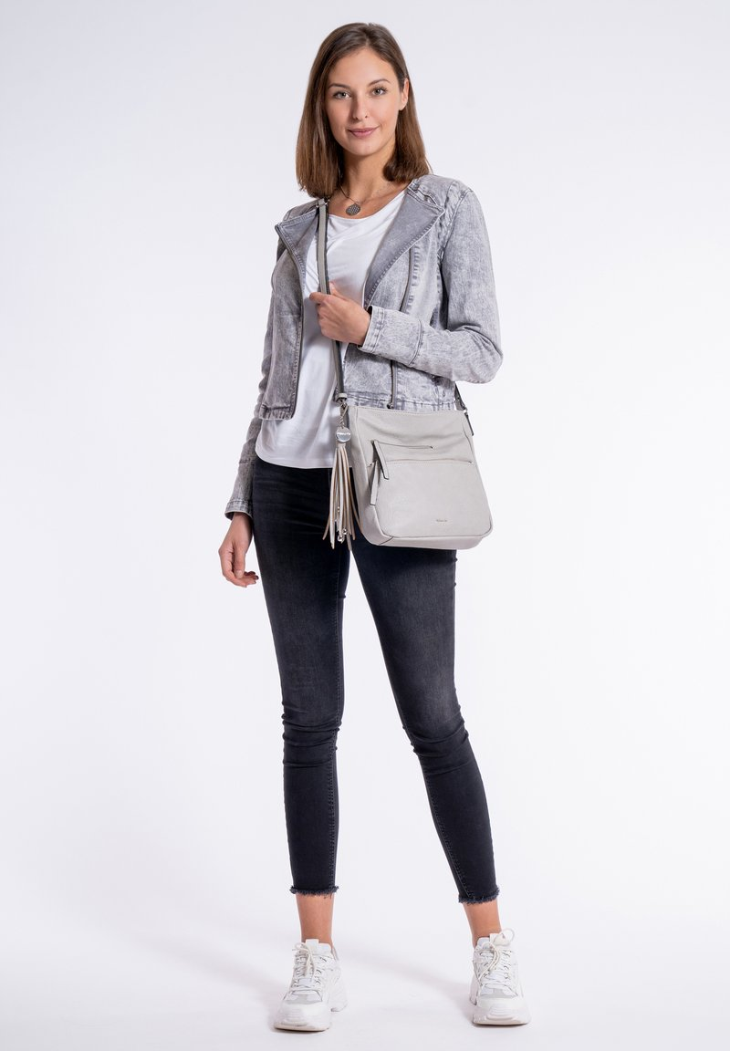 Tamaris - ADELE - Across body bag - light grey