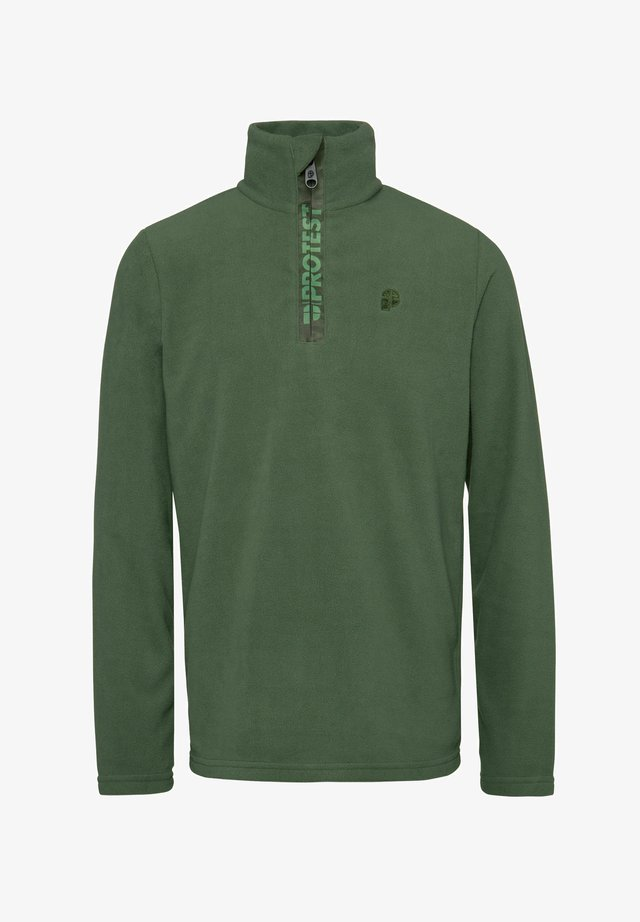 PERFECTY - Fleece jumper - amazone