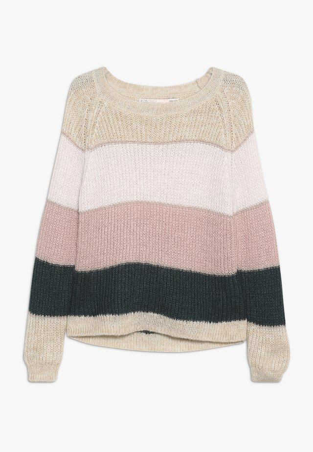 KONMALONE - Sweter - pumice stone/primrose pink/misty