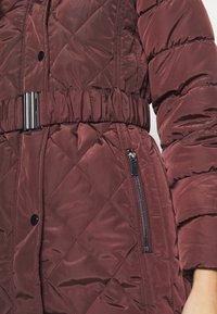 Dorothy Perkins - LONG PUFFER COAT - Winter coat - wine - 5