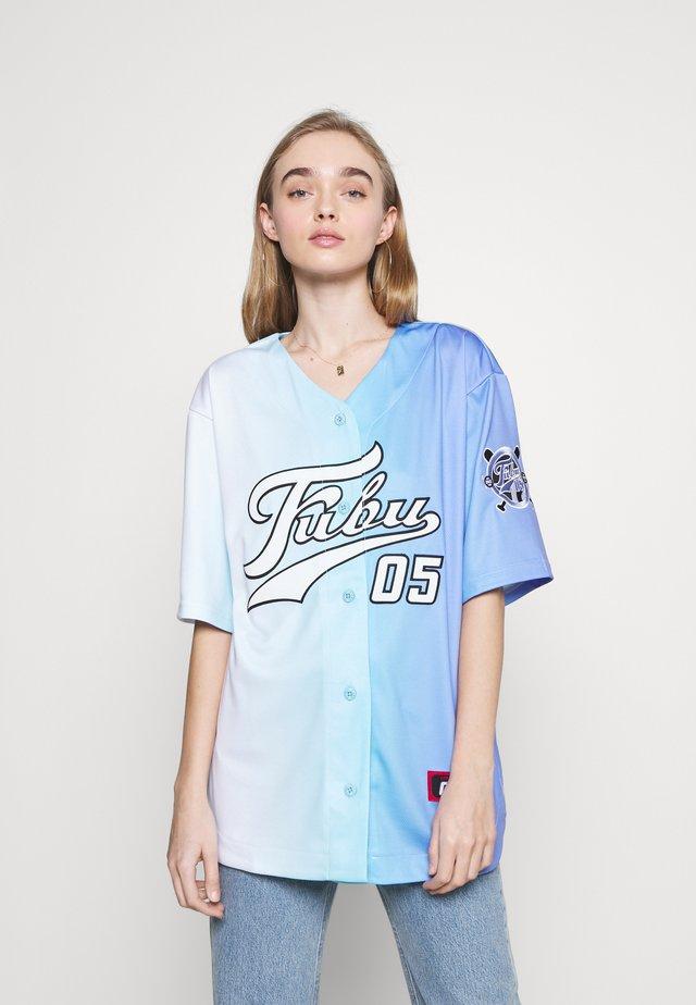 VARSITY GRADIENT BASEBALL - T-shirt med print - blue