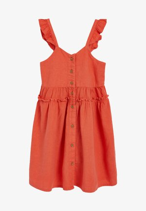 Vestido informal - coral