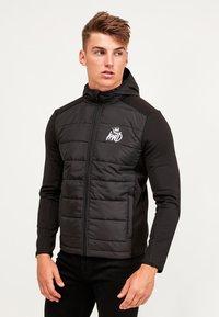 Kings Will Dream - MORSTON HYBRID PUFFER JACKET - Light jacket - black - 4