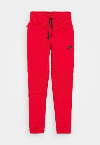 AIR - Leggings - university red/black