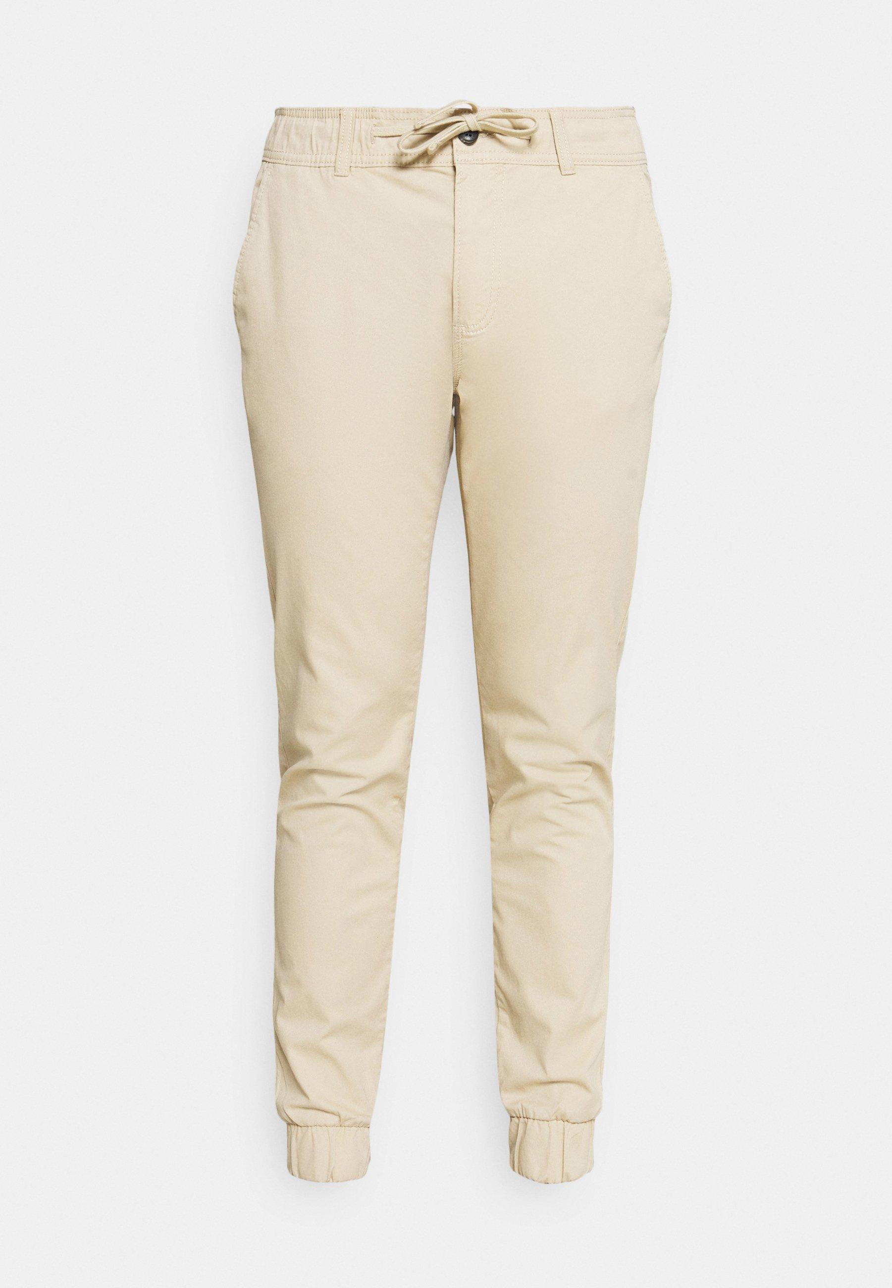 Uomo CROPPED JOGGER FIT BASIC - Pantaloni