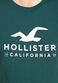 Hollister Co. - T-shirts med print - green - 5