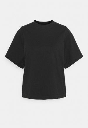 SLFPALM HIGH NECK TEE - T-paita - black