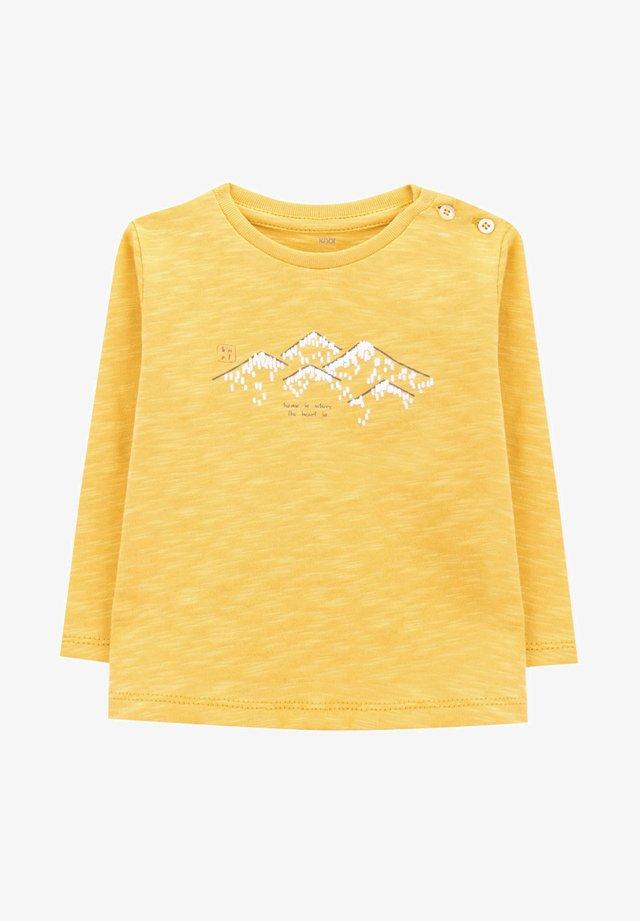 LONG SLEEVE - T-shirt print - orange