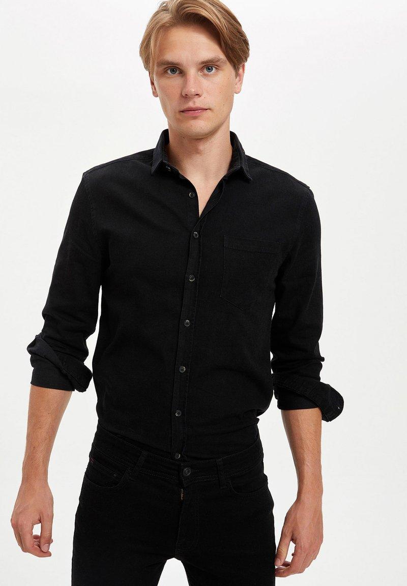 DeFacto - Hemd - black