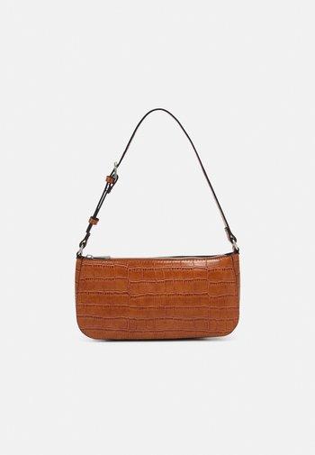 BAG ELLA CROCO - Handbag - brown