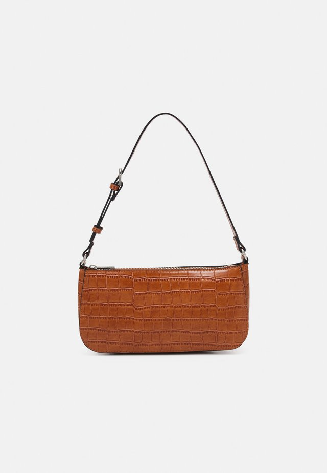 BAG ELLA CROCO - Handbag - brown