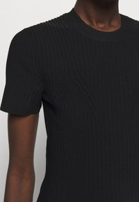 Proenza Schouler White Label - CUT OUT BACK KNIT DRESS - Jumper dress - black - 7