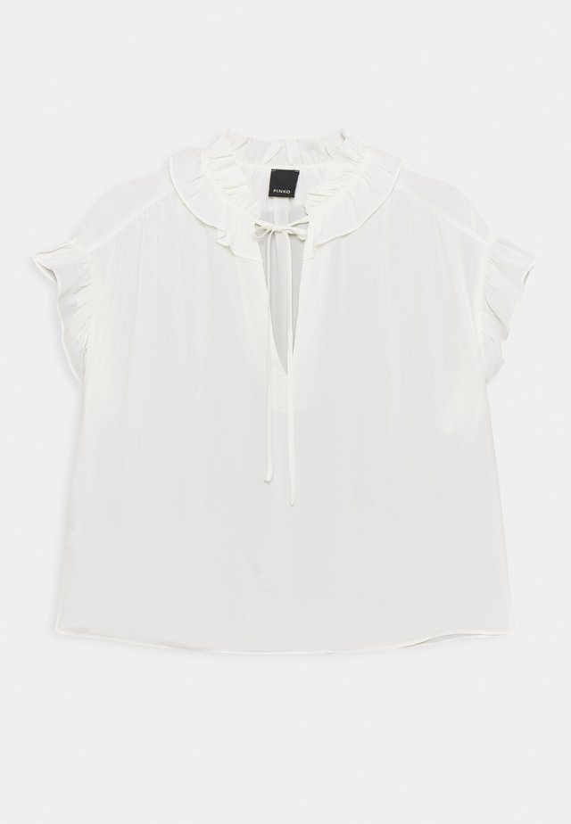 LIBERO BLUSA  - Bluse - off white
