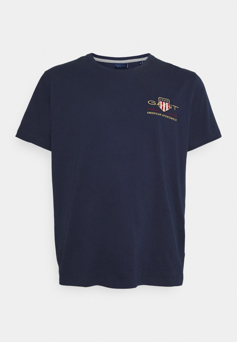 GANT - ARCHIVE SHIELD  - Print T-shirt - evening blue