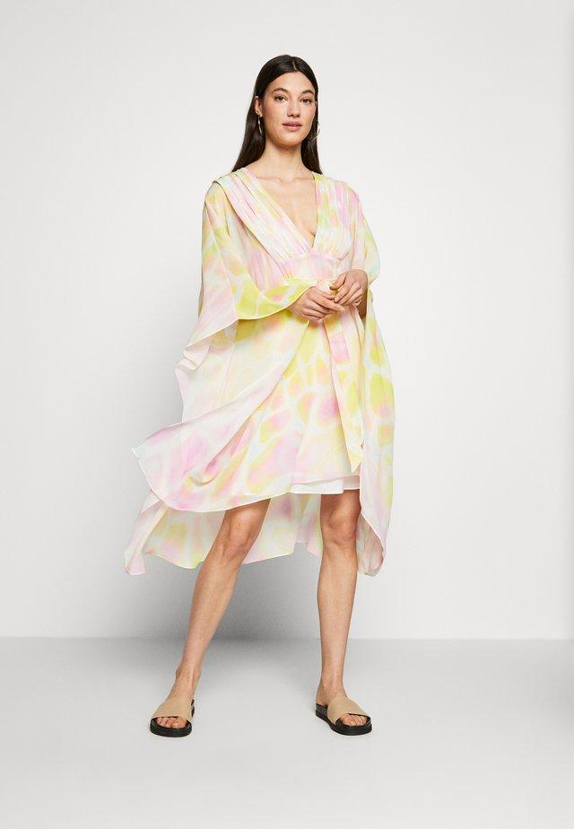 Korte jurk - irridescent variant