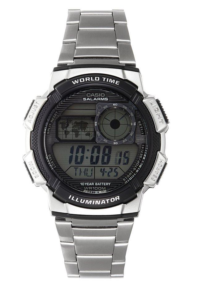 Digitální hodinky - silver-coloured