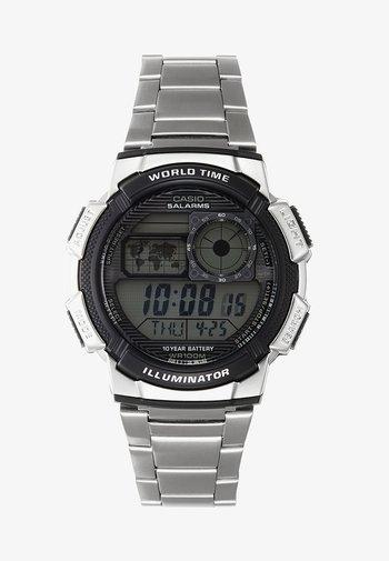 Digital watch - silver-coloured