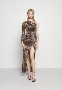 TFNC - JADA - Společenské šaty - dark brown - 0
