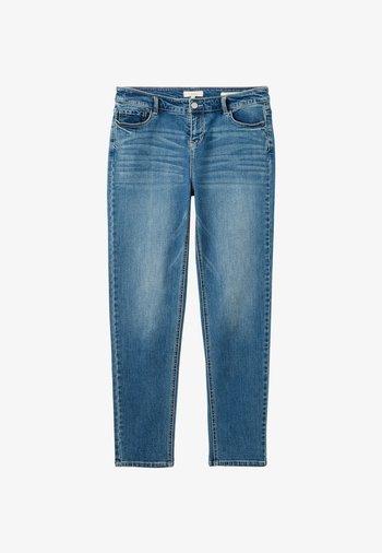 Slim fit jeans - hell jeansblau