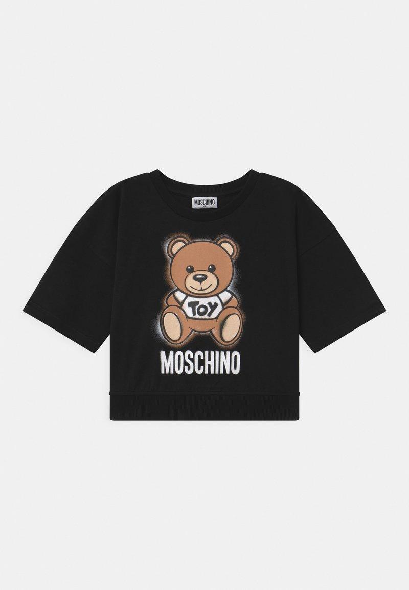 MOSCHINO - ADDITION - Print T-shirt - black