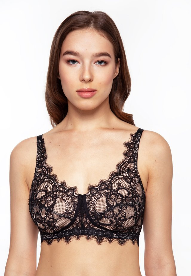ALLURE WIRELESS SOFT-CUP LACE - Soutien-gorge invisible - black