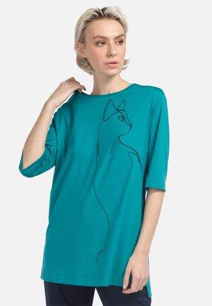 Long sleeved top - aquamarin