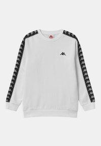 Kappa - ILDAN UNISEX - Sweatshirt - bright white - 0