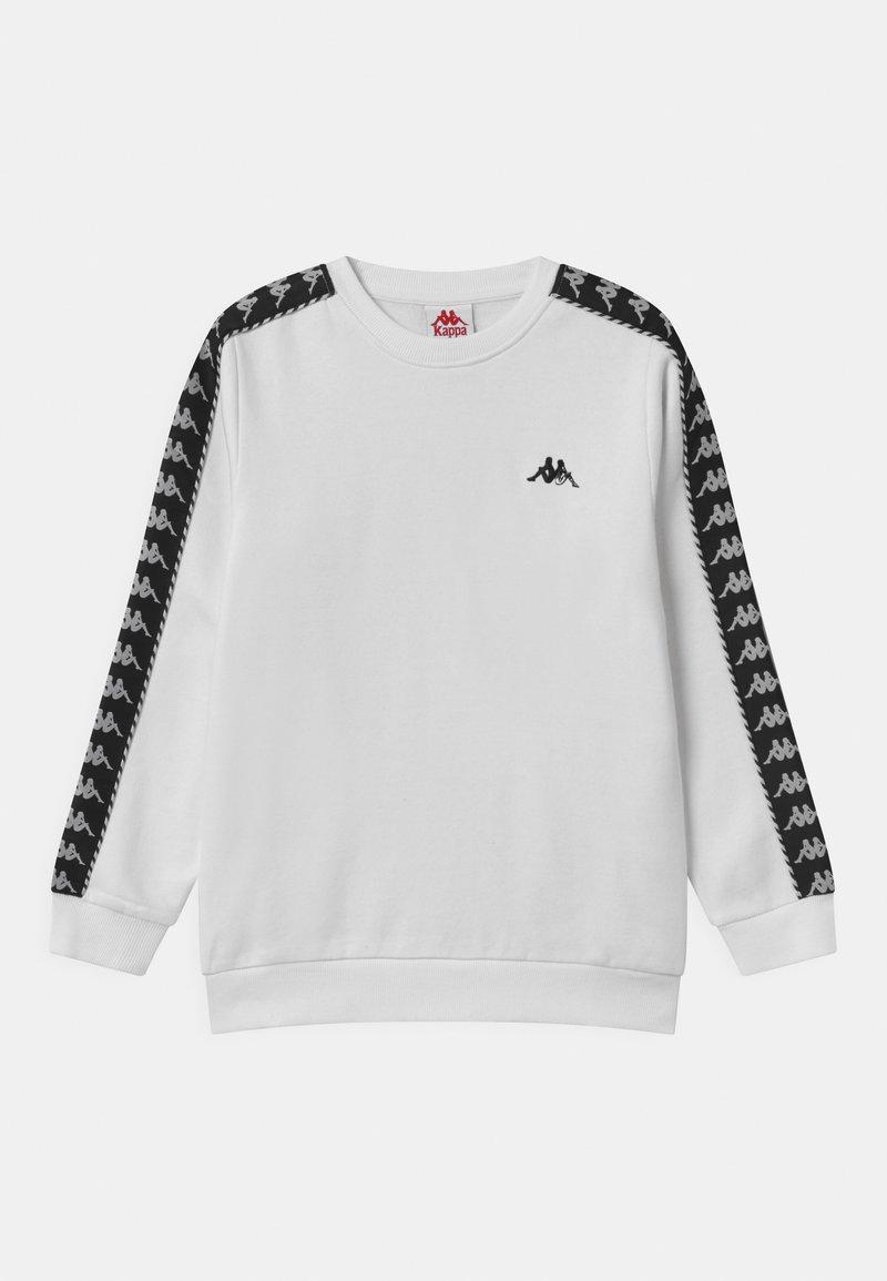 Kappa - ILDAN UNISEX - Sweatshirt - bright white