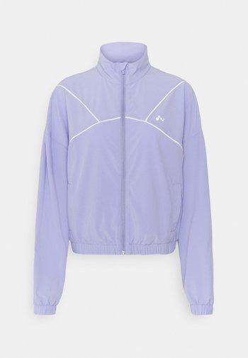 ONPAIDAN ZIP JACKET - Treningsjakke - sweet lavender/white