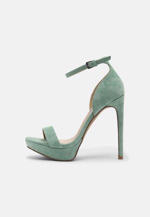 SARAH - Sandály - mint green