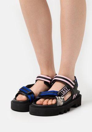 CANDY - Platform sandals - multicolor