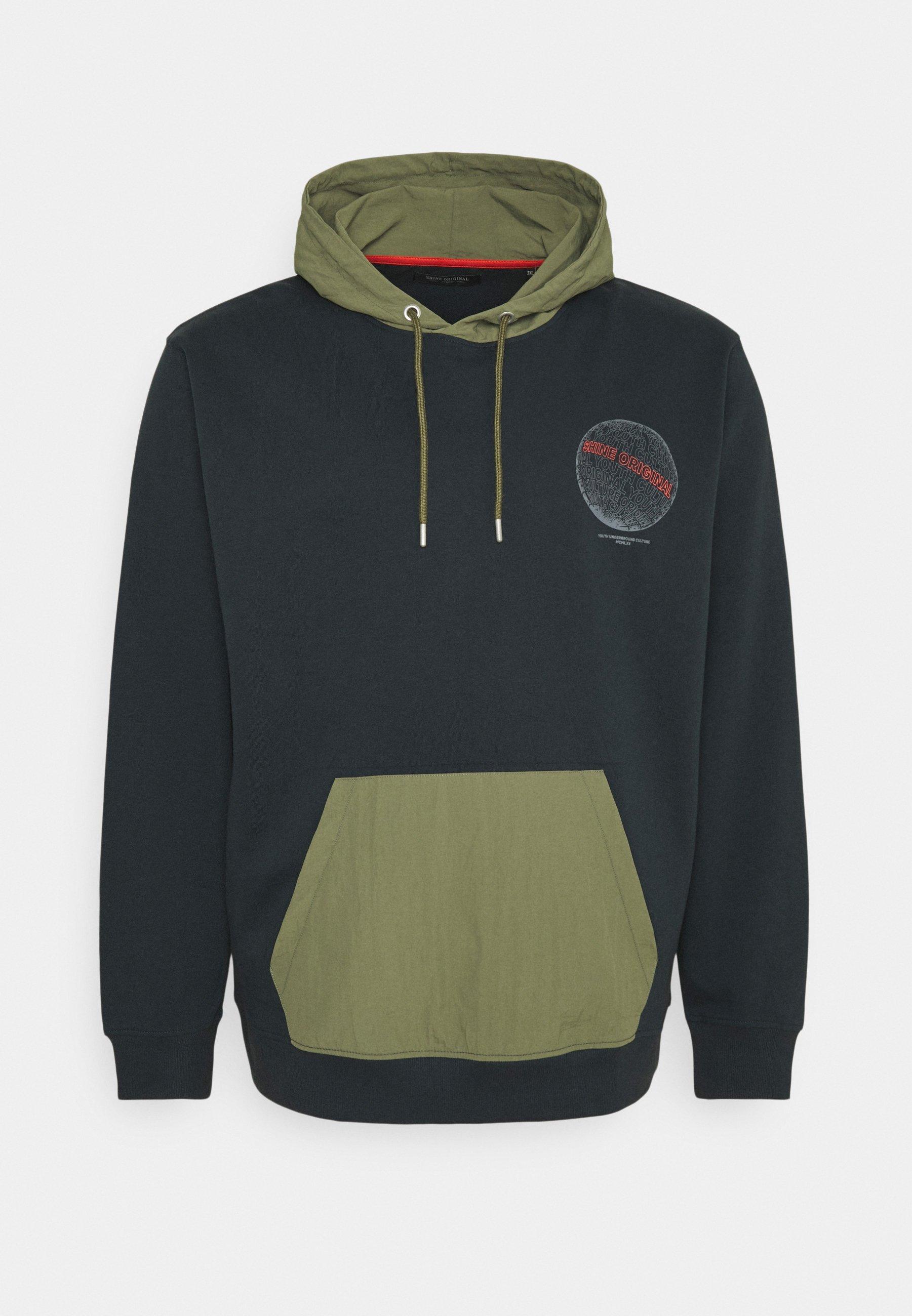 Homme CONTRAST FABRIC PRINTED - Sweatshirt