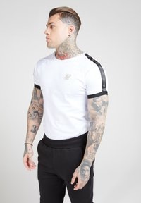 SIKSILK - T-shirt print - white - 0
