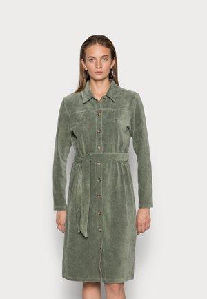 IBINE FLORINA DRESS - Shirt dress - agave green