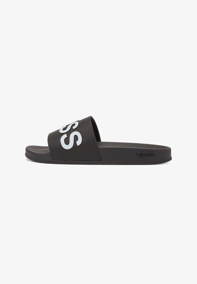 BAY_SLID_RBLG - Sandales de bain - black
