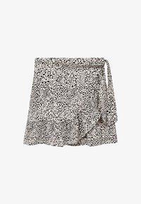 Mango - Wrap skirt - ecru - 0