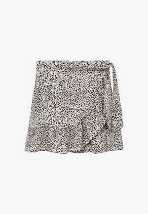 Zavinovací sukně - ecru