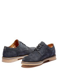Timberland - OAKROCK LT OXFORD - Casual lace-ups - navy suede - 3