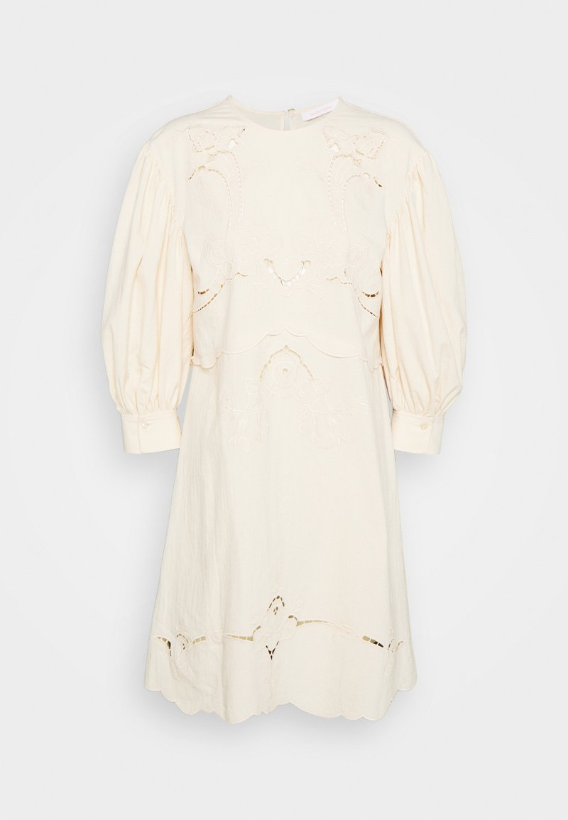 See by Chloé - Denní šaty - buttercream