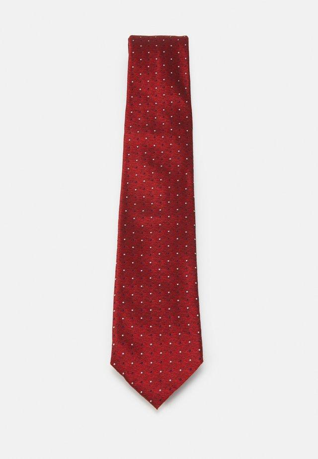 TIE - Cravatta - red