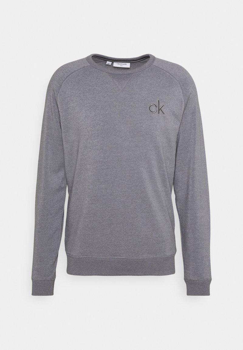 Calvin Klein Golf - COLUMBIA CREW NECK - Sweatshirt - silver marl