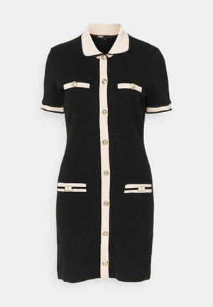 RAVENY - Jumper dress - noir
