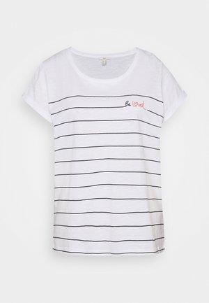 VALENTINE - T-shirt con stampa - white