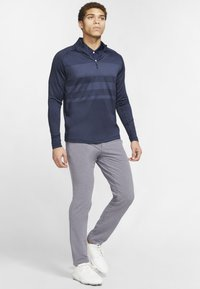 Nike Golf - T-shirt de sport - obsidian/diffused blue/obsidian - 1