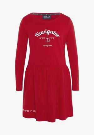 Day dress - haute red