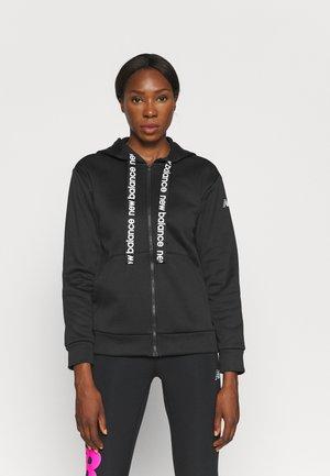 RELENTLESS TRAIN FULL ZIP - Zip-up sweatshirt - black