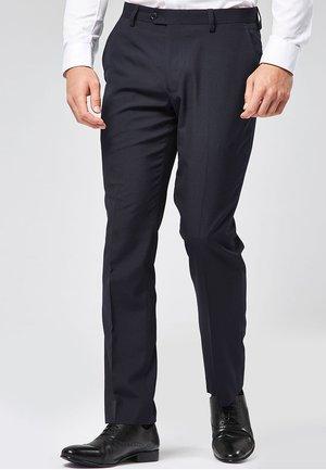 SUIT TROUSERS - Pantaloni eleganti - blue