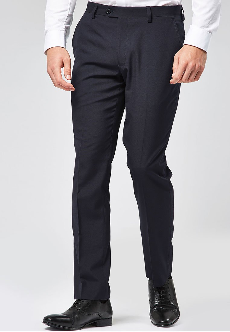 Next - SUIT TROUSERS - Pantaloni eleganti - blue