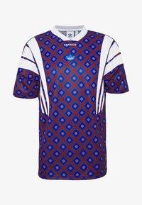adidas Originals - T-shirts print - blue/purple - 0